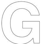 Bộ Flashcard học tiếng anh bắt đầu với chữ cái G