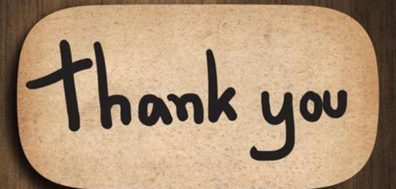 biết nói cảm ơn trong tiếng anh